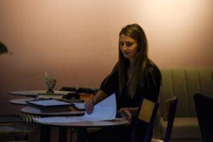 écrire chez Palma Café