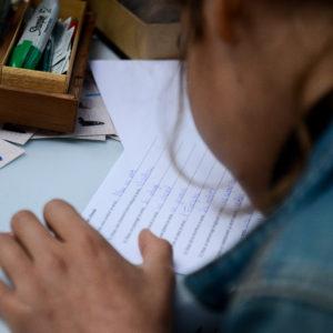 Atelier d'écriture enfant